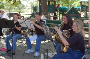 Hill Country Horn Choir performs at 2010 Texas Community Music Festival
