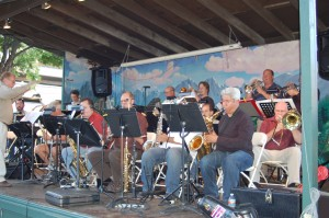 The Austin Jazz Band at TCMF 2010, Scholz Garten in Austin