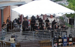 The North Austin Jazz Orchestra plays at TCMF 1, in 2006.  Today, they're known as NAJO, and will be appearing at TCMF IX!